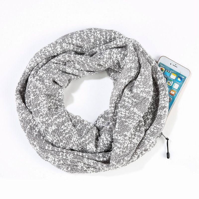 Snowflake cotton-light gray : 25 * 160CM.jpg